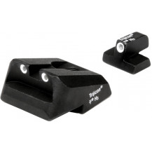 Trijicon SA33 S&W 3 Dot Green Front & Green Rear Night Sights