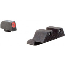 Trijicon GL101O HD Night Sight Set (Orange Front Outline, for Glock Pistols)