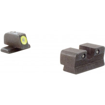 Trijicon SG101Y HD Night Sight Set with Yellow Front Outline