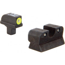 Trijicon CA101Y 1911 Colt Cut HD Night Sight Set (Yellow Front Outline)