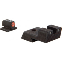 Trijicon CA128O 1911 HD Night Sight Set (Orange Front Outline)