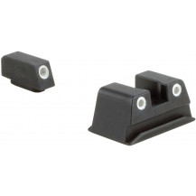 Trijicon WP02-C-600730 Walther Bright & Tough Night Sight Set (Green Front & Rear Lamps)