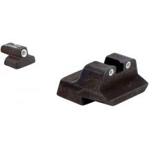 Trijicon SA30 Chief's Special .40 & .45 3 Dot Green Front & Rear Night Sight Set