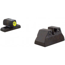 Trijicon HK108Y H&K USP Compact HD Night Sight Set (Yellow Front Outline)