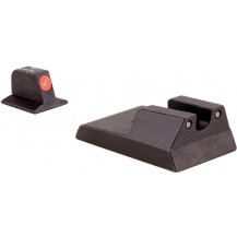 Trijicon RA114O Ruger SR9, SR40, SR40c HD Night Sight Set (Orange Front Outline)