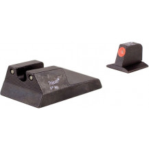 Trijicon RA115O Ruger SR9c HD Night Sight Set (Orange Front Outline)