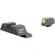 Trijicon GL104Y HD Night Sight Set (Yellow Front Outline, for Glock Pistols)