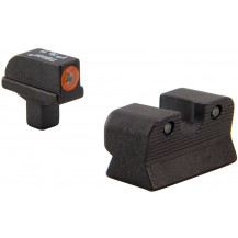 Trijicon CA110-C-600817 HD Night Sight Set with Orange Front Outline for Colt Commander