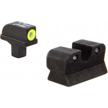 Trijicon CA109-C-600811 HD Night Sight Set with Yellow Front Outline (for Colt Officers / Compact 1991A1)