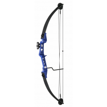 Man Kung 29LBS Cpompound Bow - Blue