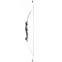 Man Kung 40LBS Recurve Bow - White