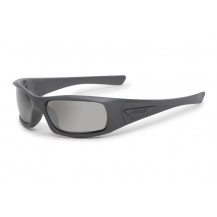 ESS 5B High Impact Sunglasses (Gray Frame Mirrored Gray Lenses)