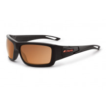 ESS Credence Ballistic Sunglasses (Black Frame Mirrored Copper Lenses)
