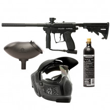 Spyder MR100 PRO Pack Paintball Gun (Black)