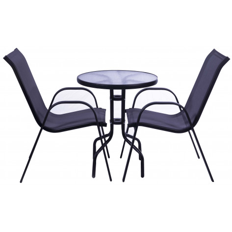 Seagull Steel 3-Piece Patio Set