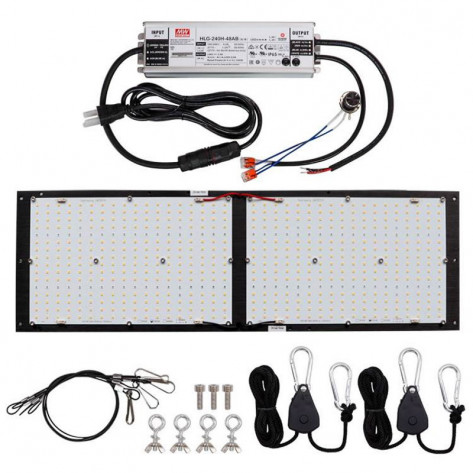 Kingbrite Quantum Board LED Grow Light - 240W
