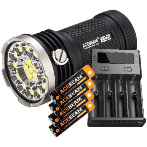Acebeam X80-GT Flashlight Combo - 32500 Lumens / 369m