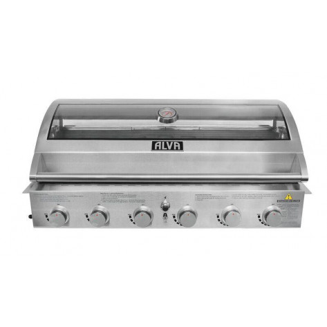 Alva Gobi Stainless Steel Built-in BBQ - 6 Burner