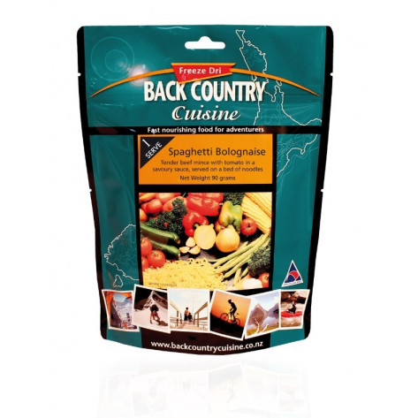 Back Country Cuisine Spaghetti Bolognaise Free Dried Meal