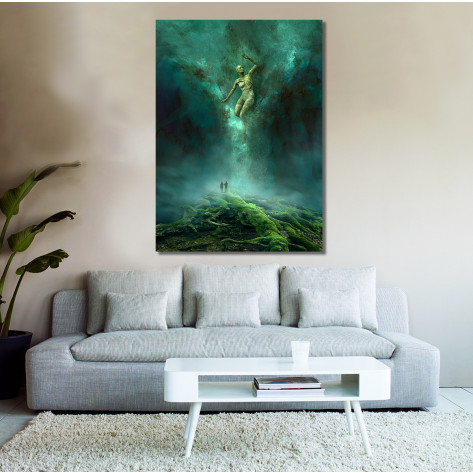 Canvas Prints Abstract Art - A0, ABA05