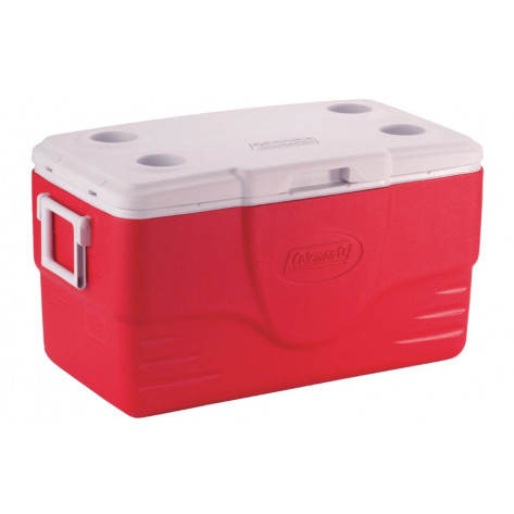 Coleman 50QT Performance Coolerbox - 47L, Red