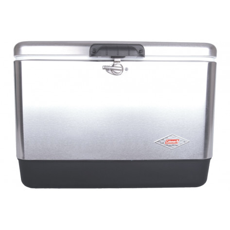 Coleman 54QT Stainless Steel Coolerbox - 50L, Silver
