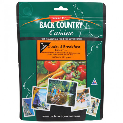 Back Country Cuisine Cooked Breakfast Freeze Dried Meal