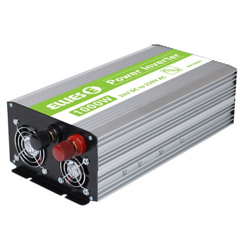 Ellies Modified Sinewave Inverter - 1000W, 24VDC to 230VAC, 50HZ