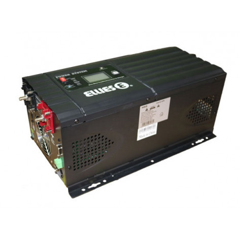Ellies Low Frequency Pure Sinewave Inverter & Charger - 2000W, 24V DC, 230V AC