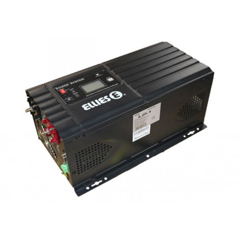Ellies Low Frequency Pure Sinewave Inverter & Charger - 3000W, 48V DC, 230V AC