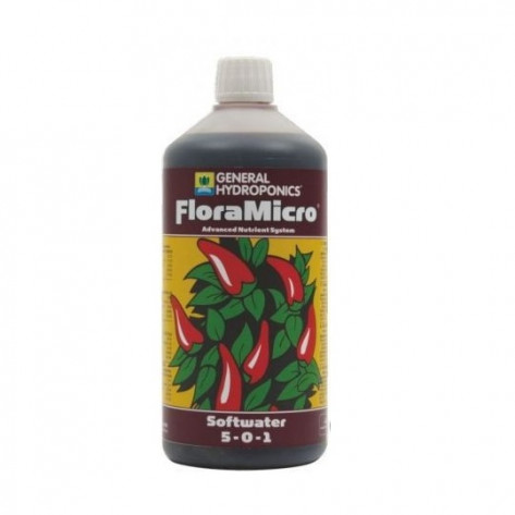 General Hydroponics FloraMicro Soft Water - 500ml