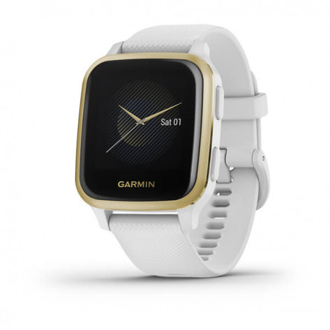 Garmin Venu Sq Smart Watch - White
