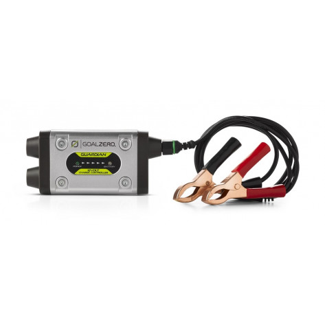 Regulates Solar Charge for 12V Battery For Vehicles, Boats, Lawnmowers, Etc. 8mm & 4.7mm Solar Panel Inputs Alligator Clip Outputs