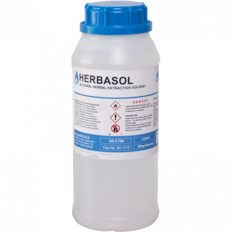 Herbasol Extraction Alcohol - Neutral 99.9% Purity, 1L