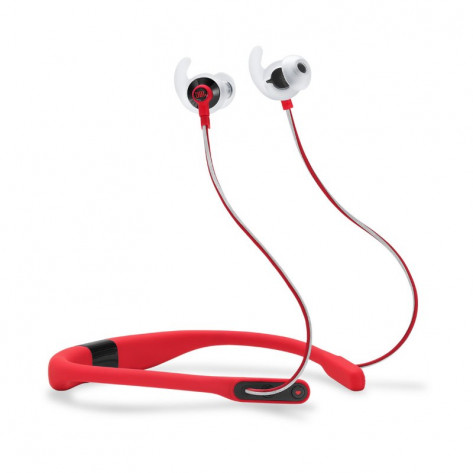 JBL Reflect Fit Heart Rate Wireless Sports Headphones - Red