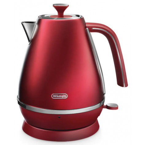 DeLonghi Distinta Flair Kettle - Glamour Red