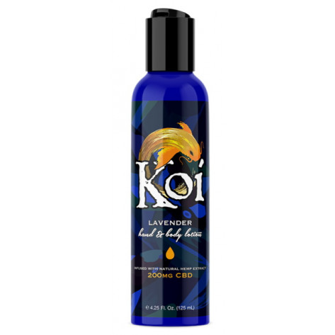 Koi CBD 200 mg Hemp Extract Lotion - Lavender, 125 ml