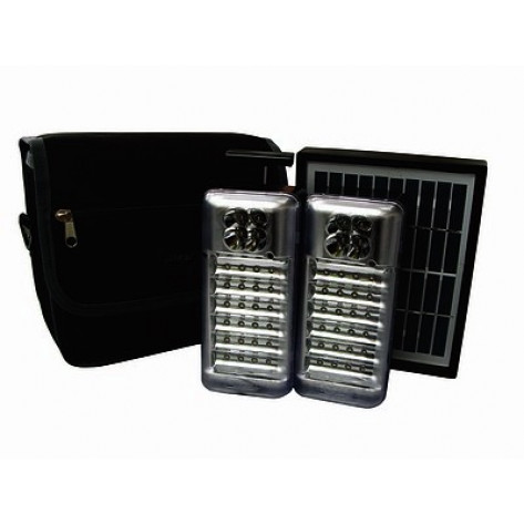Ultratec Solar Camping & Emergency Light Set