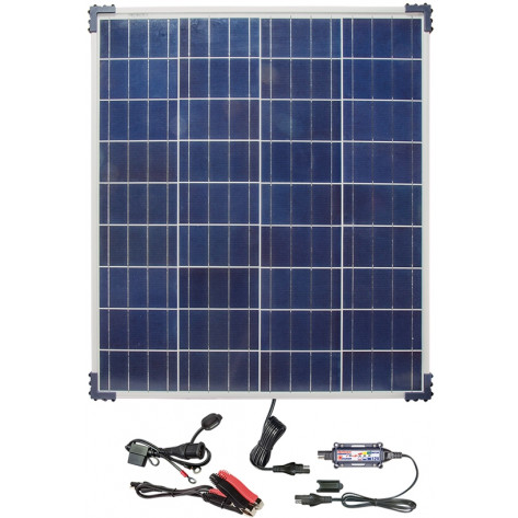 TecMate Solar Panel & Charge Controller & Monitor - 80W, 6.66A