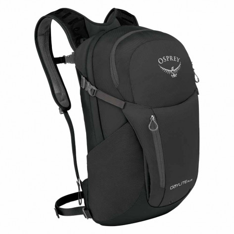 Osprey Daylite Plus Backpack - Black Front