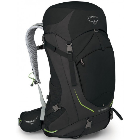 Osprey Stratos 50 Backpack - S/M, Black