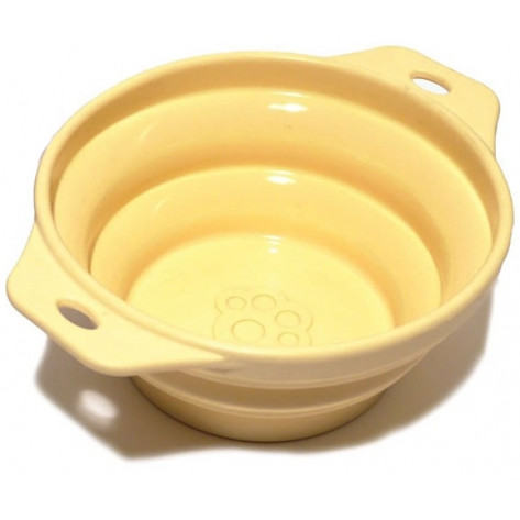 Rosewood Collapsible Travel Bowl - Beige