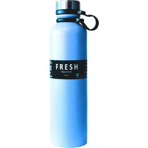 Thermosteel Fresh Stainless Steel Vacuum Bottle - 1L, Blue