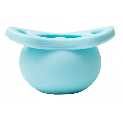 Tobbie & Co Pop Pacifier - Why So Blue - Front View