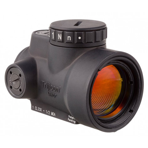 Trijicon 1x25 MRO 2.0 MOA Adjustable Red Dot Sight - w/Low Mount