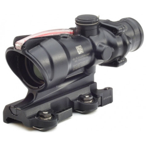 Trijicon ACOG 4x32 BAC Rifle Combat Optic Scope - Red Horseshoe Dot Reticle, For USMC A4/M4