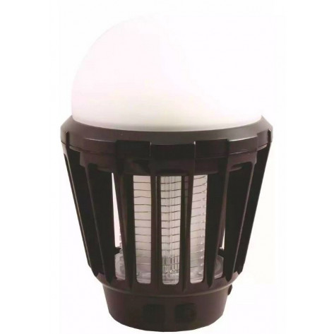 Ultratec Portable LED Bug Zapper Lantern - Black