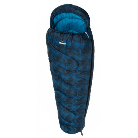 Vango Atlas Junior Print Sleeping Bag - Blue