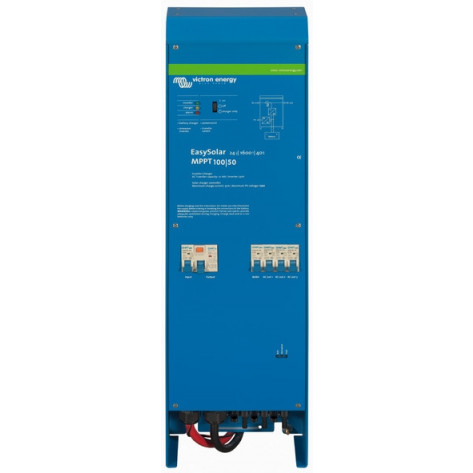 Victron EasySolar All-In-One Solar Power Solution - 12/1600 - 70-16