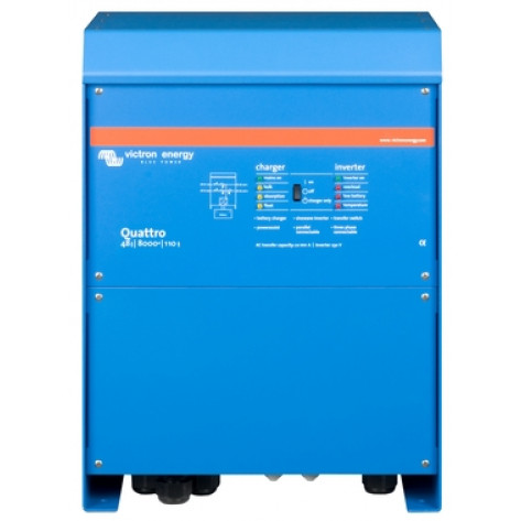 Victron Quattro Inverter And Charger - 48/8000 - 110-100/100